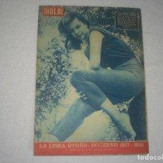 Coleccionismo de Revista Hola: HOLA N° 675 , AGOSTO 1957 . LA LINEA DE OTOÑO-INVIERNO 1957-1958 .. Lote 115767119