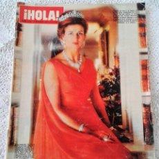 Coleccionismo de Revista Hola: REVISTA HOLA Nº 1414 2 OCTUBRE 1971 PORTADA PRINCESA ALEJANDRA DE KENT. Lote 115771327