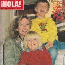 Coleccionismo de Revista Hola: REVISTA HOLA Nº 1840 AÑO 1979. ANGHARAD REES DEMELZA. MARIA JIMENEZ. ANTHONY BLUNT. . Lote 136030157