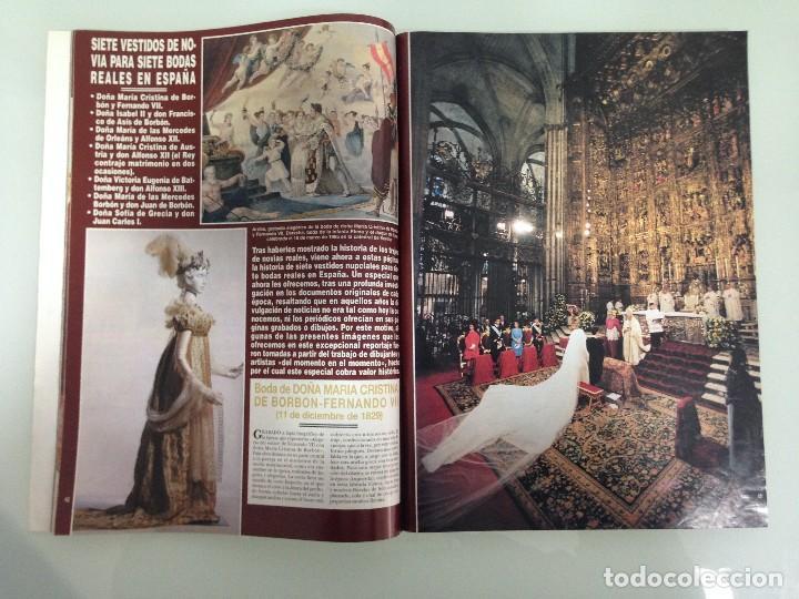 Coleccionismo de Revista Hola: ¡HOLA!, BODA DEL PRINCIPE FELIPE Y DOÑA LETIZIA, Nº3122, 3-JUNIO 2004 - Foto 4 - 116884679
