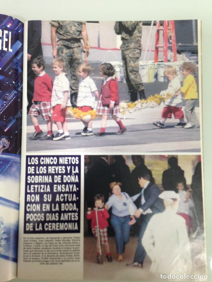 Coleccionismo de Revista Hola: ¡HOLA!, BODA DEL PRINCIPE FELIPE Y DOÑA LETIZIA, Nº3122, 3-JUNIO 2004 - Foto 6 - 116884679