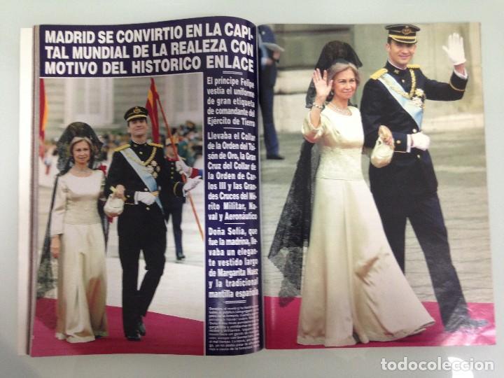 Coleccionismo de Revista Hola: ¡HOLA!, BODA DEL PRINCIPE FELIPE Y DOÑA LETIZIA, Nº3122, 3-JUNIO 2004 - Foto 7 - 116884679