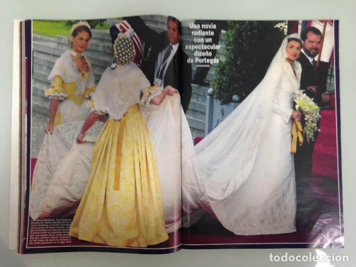 Coleccionismo de Revista Hola: ¡HOLA!, BODA DEL PRINCIPE FELIPE Y DOÑA LETIZIA, Nº3122, 3-JUNIO 2004 - Foto 8 - 116884679