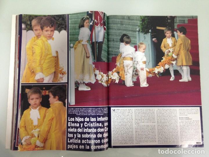 Coleccionismo de Revista Hola: ¡HOLA!, BODA DEL PRINCIPE FELIPE Y DOÑA LETIZIA, Nº3122, 3-JUNIO 2004 - Foto 9 - 116884679