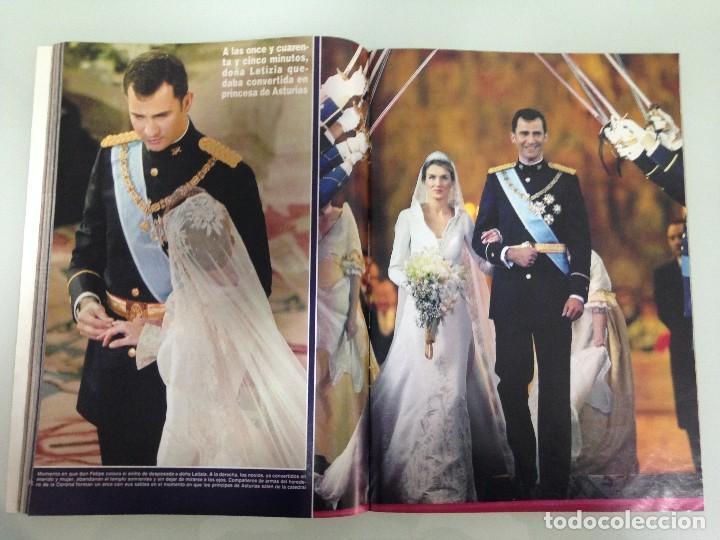 Coleccionismo de Revista Hola: ¡HOLA!, BODA DEL PRINCIPE FELIPE Y DOÑA LETIZIA, Nº3122, 3-JUNIO 2004 - Foto 11 - 116884679