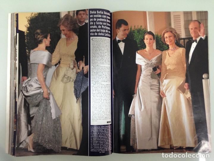 Coleccionismo de Revista Hola: ¡HOLA!, BODA DEL PRINCIPE FELIPE Y DOÑA LETIZIA, Nº3122, 3-JUNIO 2004 - Foto 12 - 116884679