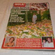 Coleccionismo de Revista Hola: REVISTA HOLA Nº 2772 SEPTIEMBRE 1997. Lote 117073431