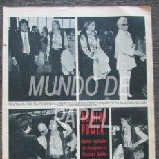 Coleccionismo de Revista Hola: RECORTE HOLA Nº 1317 1969 ROMINA POWER. AL BANO. . Lote 117606979