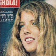 Coleccionismo de Revista Hola: REVISTA HOLA Nº 1516 AÑO 1973. FOREST HILLS. EMPERATRIZ FARAH. LIZ TAYLOR. JACKIE ONASSIS.. Lote 118279787