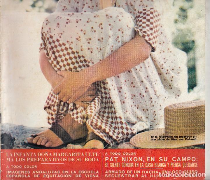 Pat Nixon By Pinterest: Revista Hola Nº 1466 Año 1972. Nina Van Palland