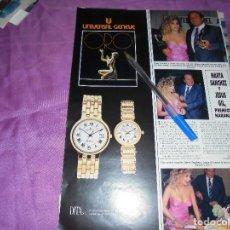 Coleccionismo de Revista Hola: RECORTE PRENSA : MARTA SANCHEZ Y JESUS GIL, PREMIOS NARANJA. HOLA, JUNIO 1988. Lote 118651003