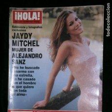 Coleccionismo de Revista Hola: F1 HOLA Nº 2930 AÑO 2000 JAYDY MITCHEL MUJER DE ALEJANDRO SANZ . Lote 118979411