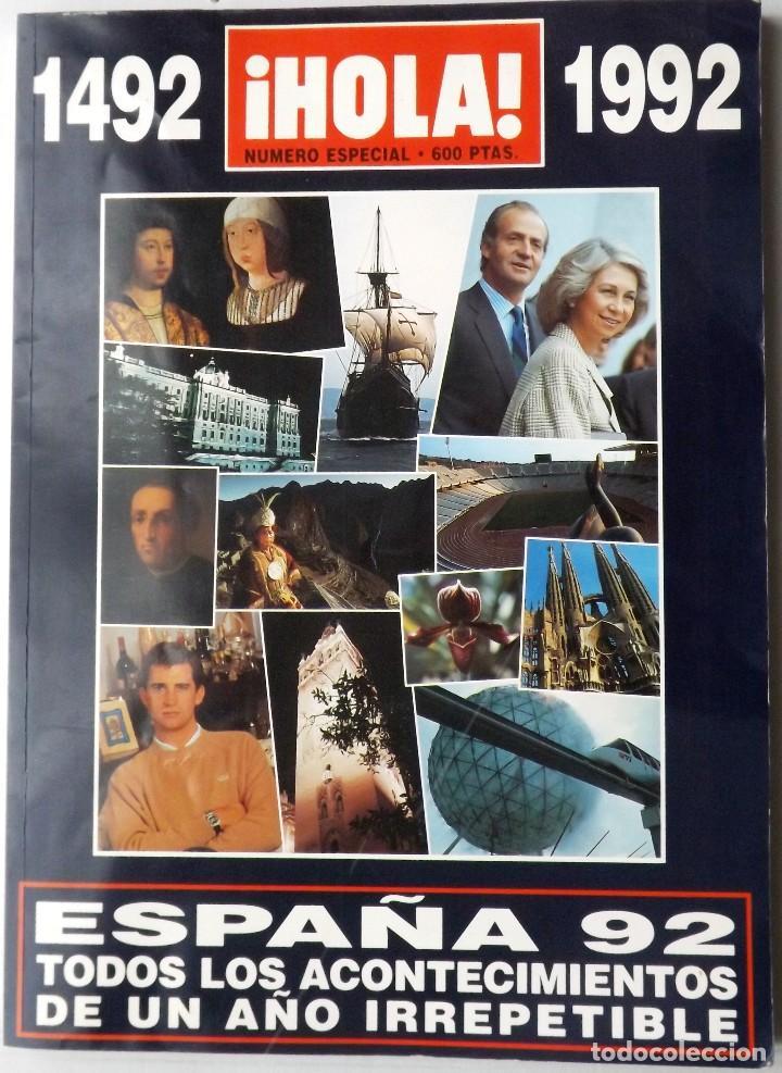 HOLA 1992 EXPO SEVILLA Nº ESPECIAL (Coleccionismo - Revistas y Periódicos Modernos (a partir de 1.940) - Revista Hola)