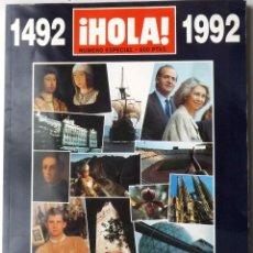 Coleccionismo de Revista Hola: HOLA 1992 EXPO SEVILLA Nº ESPECIAL. Lote 119006659