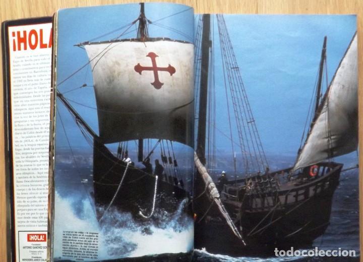 Coleccionismo de Revista Hola: HOLA 1992 EXPO SEVILLA Nº ESPECIAL - Foto 3 - 119006659
