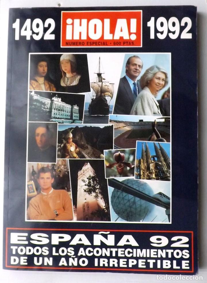 Coleccionismo de Revista Hola: HOLA 1992 EXPO SEVILLA Nº ESPECIAL - Foto 4 - 119006659