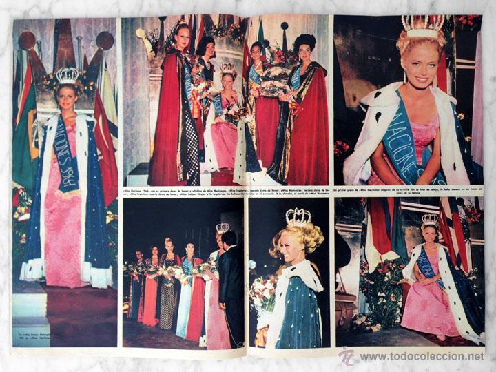 Coleccionismo de Revista Hola: HOLA - 1964 - SUSAN HOLMQUIST (MISS NACIONES), FARAH DIBA, CARMEN SEVILLA, A HITCHCOCK Y GRACE KELLY - Foto 2 - 44191561