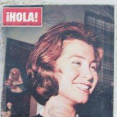 Coleccionismo de Revista Hola: HOLA 1009 1963 SOFIA DE GRECIA, EDDIE BARCLAY, MISS MUNDO, MARIA SCHELL AGNES SPAAK PIRELLI. Lote 119870515