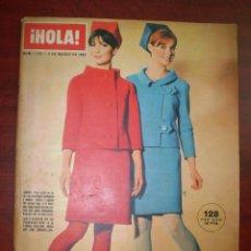 Coleccionismo de Revista Hola: HOLA -AÑO 1966 - Nº 1966 - EXTRAORDINARIO MODA PRIMAVERA VERANO 1966 -SIMON TEMPLAR. Lote 119882531