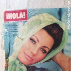 Coleccionismo de Revista Hola: HOLA 1001 1963 RITA HAYWORTH SOFIA LOREN, ZOE PROGL, ESTRENO CLEOPATRA EVA GABOR BRIGITTE BARDOT. Lote 171573743