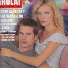 Coleccionismo de Revista Hola: REVISTA HOLA 2931 ALI 2000. ESTHER CAÑADAS Y MARK VANDERLOO. MARIA BROVO. JULIA ROBERTS. A.D.FLORES.. Lote 133864742