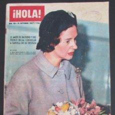 Coleccionismo de Revista Hola: HOLA 996 1963 FABIOLA AURORA BAUTISTA MAGALI NOEL ADRIANA GARDIAZABAL DIOR SOFIA LOREN DOLORES HART. Lote 120293611