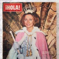 Coleccionismo de Revista Hola: HOLA - 1965 - ALICIA BORRÁS, MISS ESPAÑA, MARIA CALLAS, MARISA ALLASIO, FARAH DIBA, ROMY SCHNEIDER. Lote 69954949