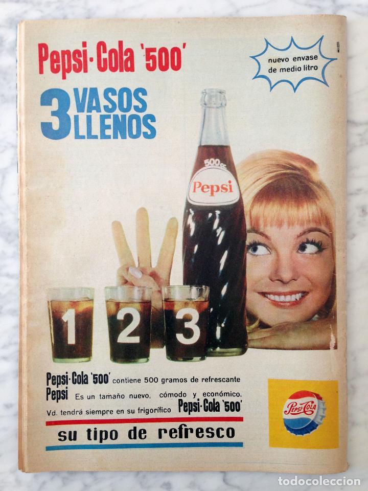 Coleccionismo de Revista Hola: HOLA - 1965 - ALICIA BORRÁS, MISS ESPAÑA, MARIA CALLAS, MARISA ALLASIO, FARAH DIBA, ROMY SCHNEIDER - Foto 4 - 214608026