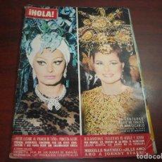 Coleccionismo de Revista Hola: HOLA AÑO 1969- Nº 1283- MADAME CURIE- NICOLE Y ADAMO- SIMONETTA- GALA SOFIA LOREN EN MONTECARLO. Lote 121664027