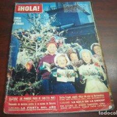 Coleccionismo de Revista Hola: HOLA AÑO 1969- Nº 1321 -ESPECIAL NAVIDAD- SHIRLEY TEMPLE- GRACIA MONACO- CARLETTO PONTI- GALA UNICEF. Lote 121664343