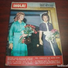 Coleccionismo de Revista Hola: HOLA NOVIEMBRE 1970- Nº 1368- PRINCESA SOFIA- GRACIA MONACO- BODA CAMPERA- ONASSIS. Lote 121670563