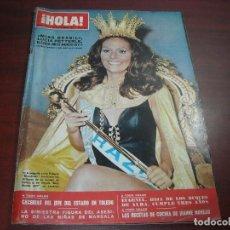 Coleccionismo de Revista Hola: HOLA AÑO 1971- Nº 1421 CACERIAS DEL CAUDILLO FRANCO- LOS PERSUASORES- MISS MUNDO LUCIA PETTERLE. Lote 121671959