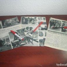 Coleccionismo de Revista Hola: JUNIO AÑO 1966- CRUCERO GRACIA Y RAINIERO RENAISSANCE- CAROLINA Y PRINCIPE ALBERTO -RECORTE PRENSA. Lote 121905907