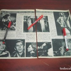 Coleccionismo de Revista Hola: JUNIO AÑO 1966- IRA FURSBERG EXPLICA SU LANZAMIENTO AL CINE. 2. PAG. RECORTE PRENSA. Lote 121906371