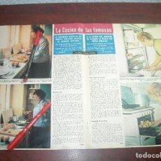 Coleccionismo de Revista Hola: MAYO AÑO 1964- CARMEN SEVILLA EN LA COCINA -RECETA POLLO AGRIDULCE- RECORTE PRENSA. Lote 122027211