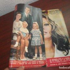 Coleccionismo de Revista Hola: HOLA AÑO 1969- Nº 1300-DOS PORTADAS- BIOGRAFIA PRINCIPE JUAN CARLOS-HISTORIA CONQUISTA LA LUNA. Lote 122114019