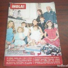 Coleccionismo de Revista Hola: HOLA AÑO 1966- Nº 1115- FRANCO CELEBRA LA NAVIDAD- PRINCESA MONACO Y CAROLINA- SANGRE MURO BERIN. Lote 122121127