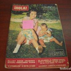Coleccionismo de Revista Hola: HOLA AÑO 1966- Nº 1137- PRINCESA CRISTINA CUMPLE 1 AÑO- BAILEE DEL CENTENARIO MONACO. Lote 122121903