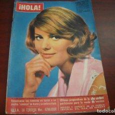 Coleccionismo de Revista Hola: HOLA AÑO 1967- Nº 1169- CLAUDIA CARDINALE- BODA MARGARITA DINAMARCA- CACERIA FRANCO- SOFIA LOREN. Lote 122125323