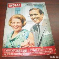 Coleccionismo de Revista Hola: HOLA AÑO 1967- Nº 1184- PRINCESA HEREDERA BEATRIZ- MIA FARROW- LIZ TAYLOR-. Lote 122125695