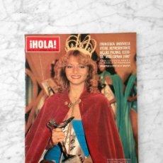 Coleccionismo de Revista Hola: HOLA - 1980 - FRANCISCA ONDIVIELA, MISS ESPAÑA, LYNNE FREDERICK, SOFIA LOREN, GIANNINA FACIO. Lote 122127787