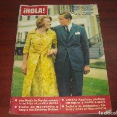 Coleccionismo de Revista Hola: HOLA AÑO 1965- Nº 1107- ANA MARIA GRACIA- MUÑECAS DEL VIETNAM- FINAL COPA DEVIS INTERZONAS. Lote 122130427