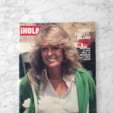 Coleccionismo de Revista Hola: HOLA - 1979 - FARRAH FAWCETT, ELTON JOHN, ANGIE DICKINSON, DEMIS ROUSSOS, MANOLO ESCOBAR. Lote 122196783