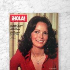 Coleccionismo de Revista Hola: HOLA - 1978 - JACLYN SMITH, TERESA GRAVES, MARIO ANDRETTI, DAVID BOWIE, JON VOIGHT, GRACIA DE MONACO. Lote 122197375