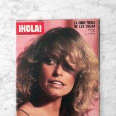 Coleccionismo de Revista Hola: HOLA - 1978 - FARRAH FAWCETT, HEATHER MENZIES, BRIGITTE BARDOT, PALOMA SAN BASILIO, PETER STRAUSS. Lote 122198095