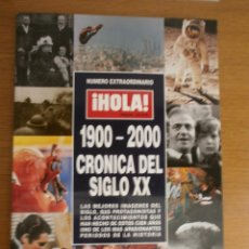 Coleccionismo de Revista Hola: HOLA NÚMERO EXTRAORDINARIO 1900-2000. Lote 123343051