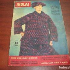 Coleccionismo de Revista Hola: HOLA AÑO 1964 - Nº 1046 - EXTRAORDINARIO MODA OTOÑO INVIERNO 1964-65- 1965. Lote 123455943