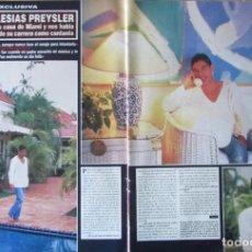 Coleccionismo de Revista Hola: RECORTE HOLA 2798 1998 JULIO IGLESIAS PREYSLER. 3 PG. Lote 124703591