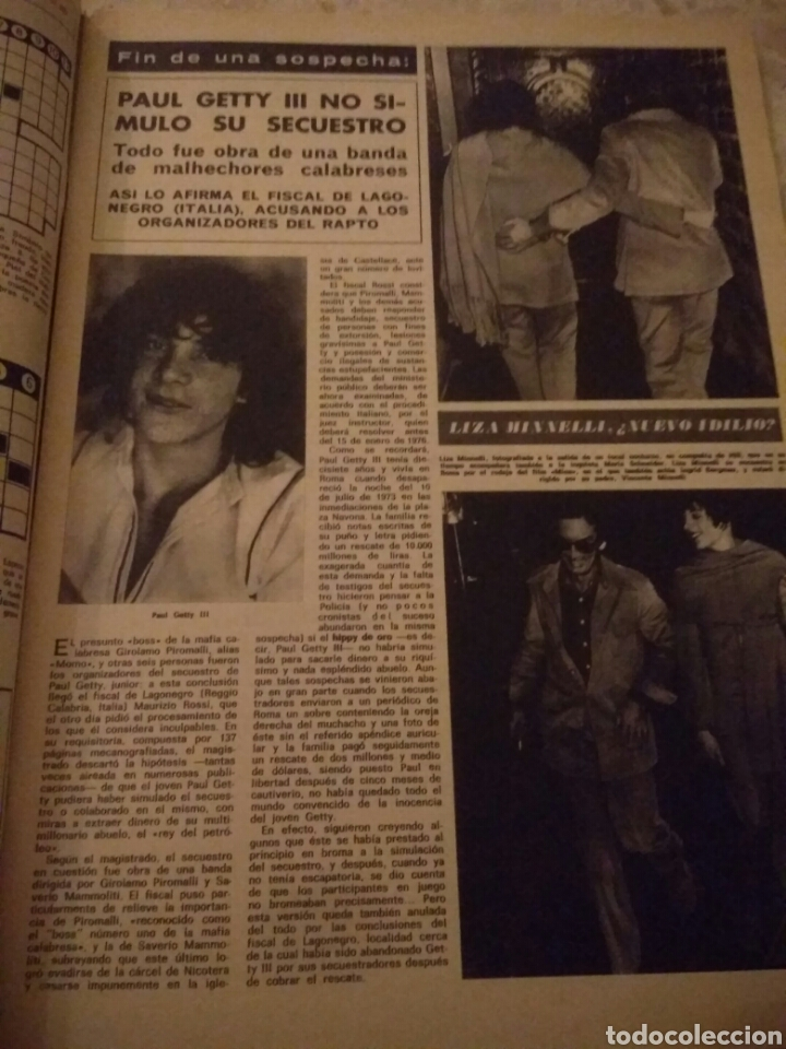 Coleccionismo de Revista Hola: REVISTA HOLA DICIEMBRE 1975 HOMENAJE A LOS REYES DE ESPAÑA.BUEN ESTADO - Foto 2 - 124988240