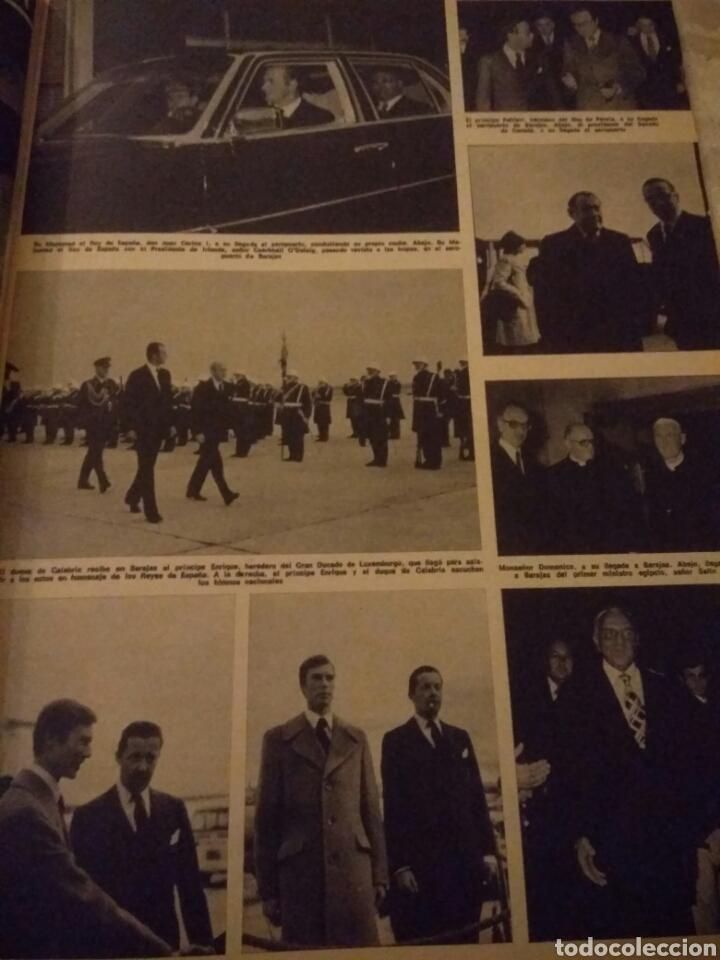 Coleccionismo de Revista Hola: REVISTA HOLA DICIEMBRE 1975 HOMENAJE A LOS REYES DE ESPAÑA.BUEN ESTADO - Foto 3 - 124988240